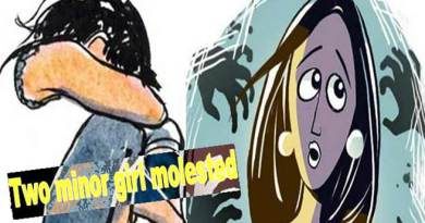 Itanagar: Two minor girl molested, accused absconding