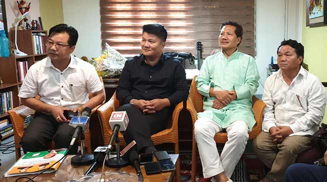 Arunachal: NPP extends unconditional support to Pema Khandu led BJP govt. in state