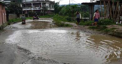 Arunachal: This bad road leads to SLSA, premier sports academy