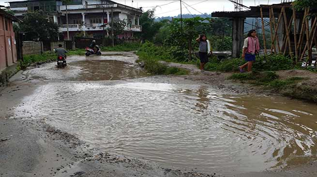 Arunachal: This bad road leads to SLSA, premier sports academy