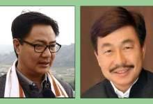 Arunachal LS Poll: Tapir Gao, Kiren Rijiju of BJP registered significant victory