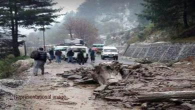 Photo of Arunachal: Massive landslide on BCT road between Elephant-Sessa