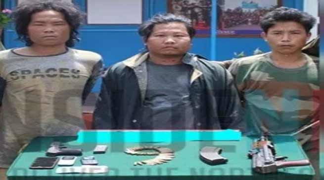 Arunachal:3 NSCN (K) insurgents held in Changlang