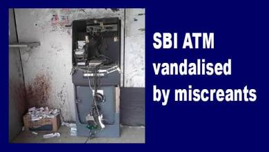 Photo of Itanagar:  SBI ATM vandalised by miscreants, case registered