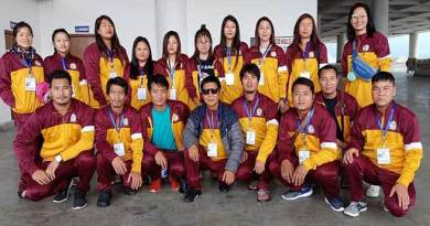 Arunachal: Group of youths left for international youth exchange exposure trip to Bhutan