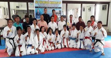 AKA felicitates winners of National Karate championship