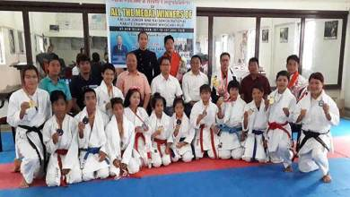 AKA felicitates winners of National Karate championship