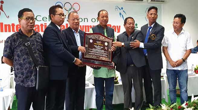 AOA celebrates International Olympic Day