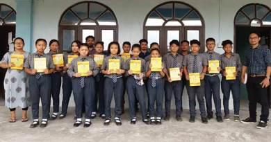 Itanagar: Choose LIFE Not TOBACCO, mission of Ajing Arum Society