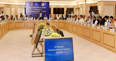Dy CM Chowna Mein attends 35th GST Council Meeting in New Delhi