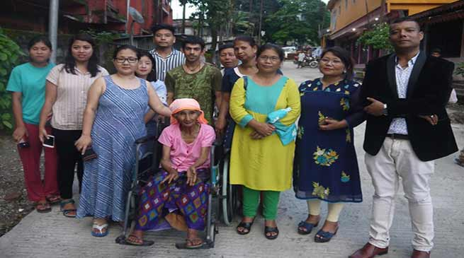 Arunachal: 75-year-old Krishna rescued from jungle, gets shelter in Swadhar Griha