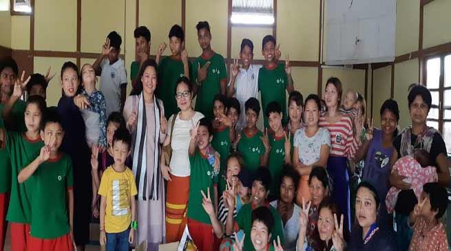 Arunachal: Biri Shanti Nido visits OWA