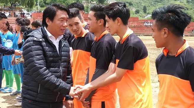 Tawang: second Subroto Mukherjee cup foot ball tournament begins