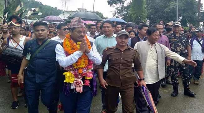 Arunchal: Tesam Pongte assured to work for the people of state