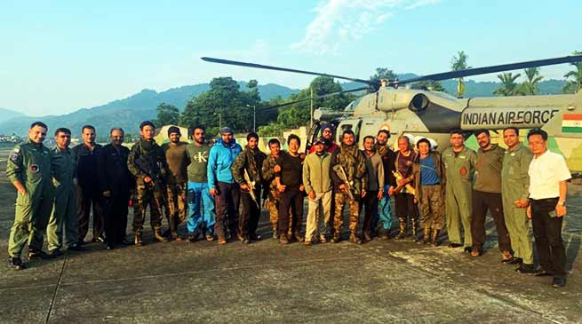 Arunachal: IAF retrieves all members mountaineering rescue team from AN-32 crash site