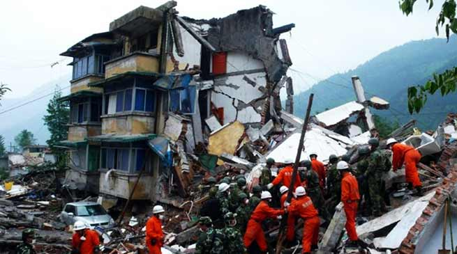China's Sichuan earthquake death toll rises to 12, over 100 injured