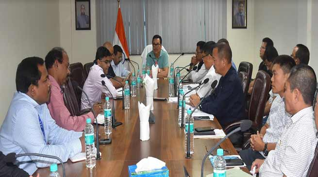 Arunachal: Dy CM hold Pre-Budget Consultative Meeting with Agri & allied Dept