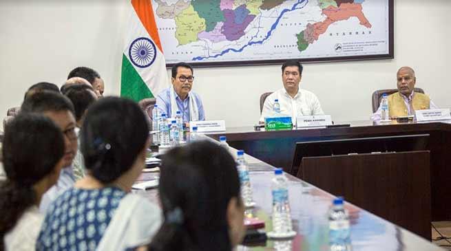 Transparency in governance by curbing corruption is one of priorities of my Govt- Pema Khandu