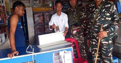 Itanagar: Admin crack down Illegal Number plates business from Car decor shops