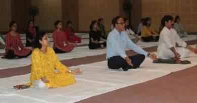 International Day of Yoga celebrated at Royal Global University