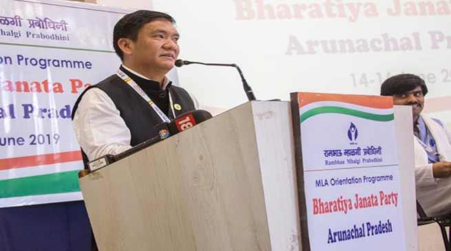 Orientation programme for BJP MLAs from Arunachal begins in Mumbai