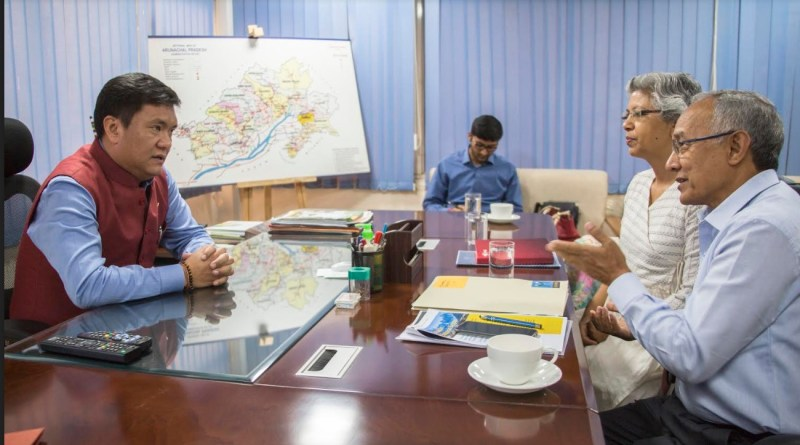 IMI Delegation meets CM Pema Khandu, discussed issues related to Himalayan states