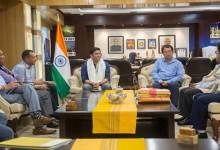 Photo of Arunachal: APPSC Chairman Nipo Nabam called on CM Pema Khandu