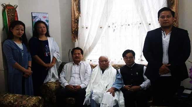 Arunachal: Gicho Kabak appointed as NPP NECC Vice Chairman