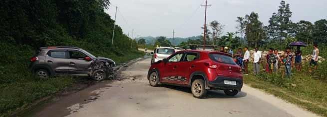 Arunachal:6 injured in road accident on Trans Arunachal Highway