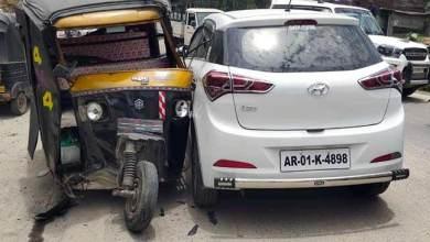 Photo of Itanagar: 3 injured in Tempo-Trekker accident at Vivek Vihar