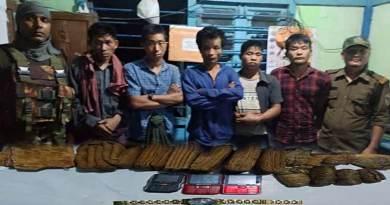 Arunachal:Changlang police apprehended 4 NSCN (K-YA) members of Burmese nationality