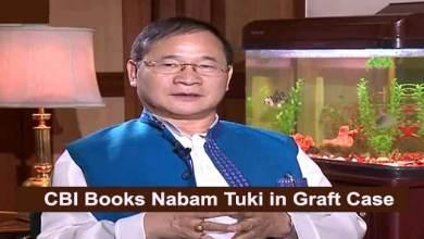 Photo of CBI Books Former Arunachal Pradesh CM Nabam Tuki in Graft Case