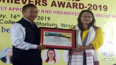 Photo of Arunachal: Nyishi Elite Society felicitates meritorious students