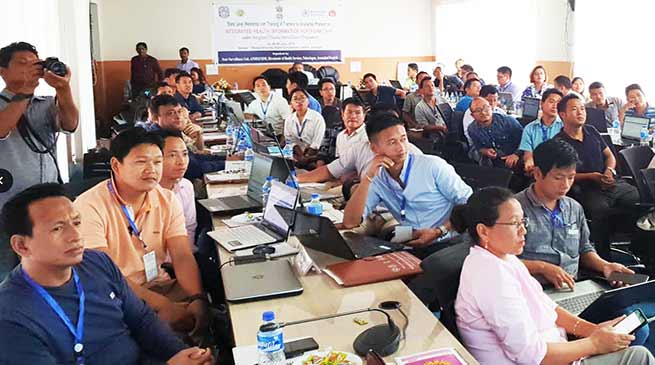 Itanagar: Two days training for IHIP trainers concludes