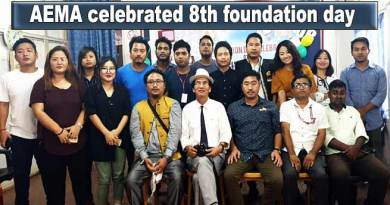 Arunachal Electronic Media Association celebrates 8th foundation day