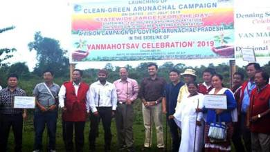 Photo of Clean – Green Arunachal Campaign: 6000 sapling planted in Lohit