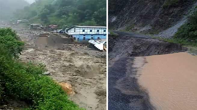 Cloudburst in Arunachal:  Several missing, thousand stranded after flash floods