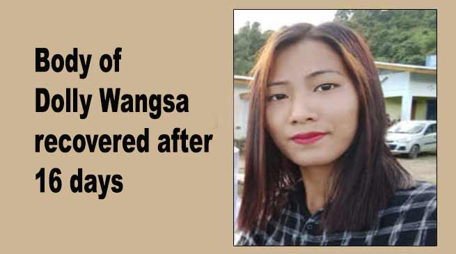 Arunachal: Decomposed body of Dolly Wangsa recovered after 16 days