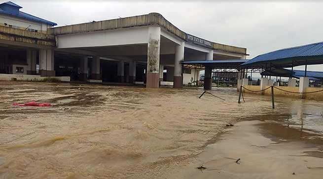 Arunachal: State's lone ISBT full of mud