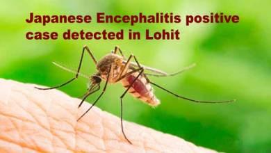 Photo of Arunachal: Japanese Encephalitis positive case detected in Lohit