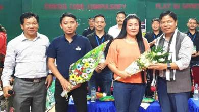 Photo of Itanagar: Simai felicitates two badminton umpire