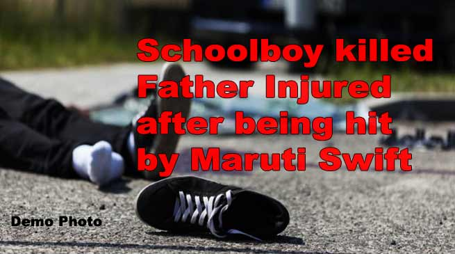 Tawang: Schoolboy killed after being hit by Maruti Swift, father injured