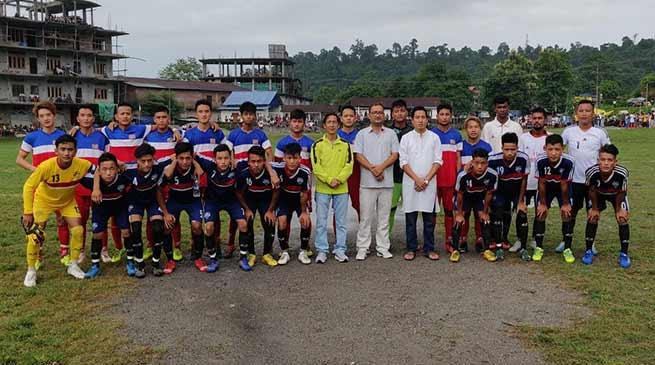 Arunachal: 3rd Tage Raja Memorial Football Tournament concludes