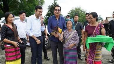 Arunachal: Chowna Mein Accorded Warm Welcome at Wakro
