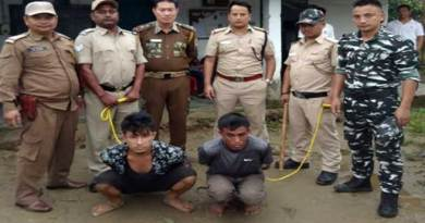 Arunachal: 2 arrested in murder and theft case in Likabali