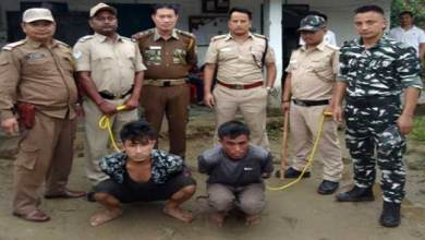 Photo of Arunachal: 2 arrested in murder and theft case in Likabali