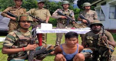 Arunachal: Lohit police arrested most-wanted criminal with arms & ammunition