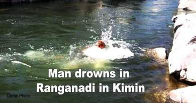 Arunachal: Man drowns in Ranganadi in Kimin