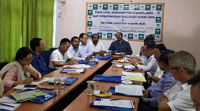 Itanagar: NABARD Organised State Level Workshop for DEDS & NLM
