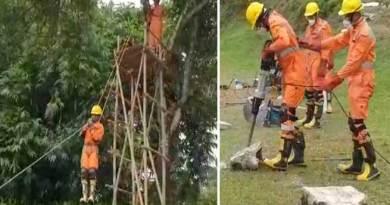 Arunachal: NDRF showcase skills on rescuing victims